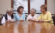 Group of Senior women laughing